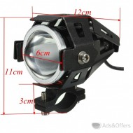 2 LED MOTORCYCLE FOG LIGHTS 2 X ΠΡΟΒΟΛΕΑΚΙΑ LED 125W 60 Euro only