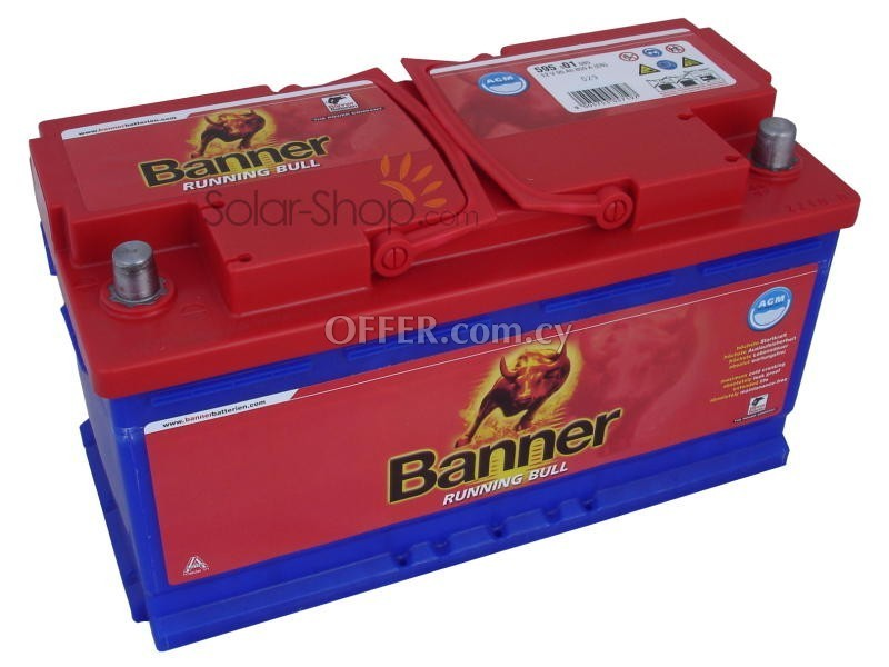 banner batteries 95 ah 67776en cyprus car batteries. Black Bedroom Furniture Sets. Home Design Ideas