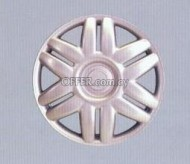 A&C SET WHEEL COVER SILVER 14 ''