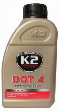 K2 DOT 4 BRAKE FLUID 500 ML