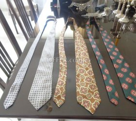 Authentic silk ties 1950s and 1960s - Αυθεντικές μεταξωτές γραβάτες της δεκαετίας του 1950 και 1960