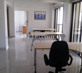 For rent office in Larnaca Spyrou Kyprianou 24, 6058 Larnaca (former Stratigou Timagia), Gianni Maria Building. 1st floor.