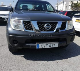 2006 Nissan Navara 2.5L Diesel Manual Pickup and 4x4