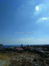 Plot with Sea View in Limassol
