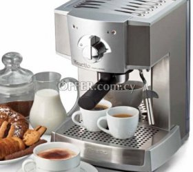 Ariete 1334 coffee maker espresso machine silver
