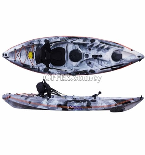 Kayak Galaxy Cruz (fishing or leisure)- Free delivery - 4