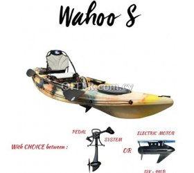 Kayak Galaxy Wahoo S Series (Pedal, Paddle or Electric Motor Drive)