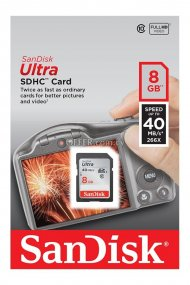 SANDISK ULTRA SDHC CARD 8GB