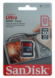 SANDISK ULTRA SDHC CARD 32GB