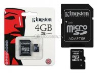 Kingston micro sd card 4gb class 10