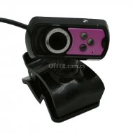 Web cam with microphone 16mp pink