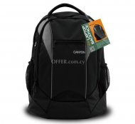 "Canyon backpack for 15.6"" laptop, Black/Gray"