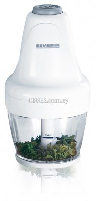 SEVERIN FOOD CHOPPER WHITE-GREY