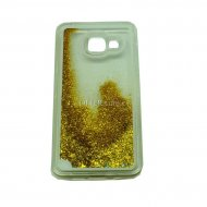 HARD CASE SAMSUNG GALAXY A3 2016 A310 GLITTER GOLD