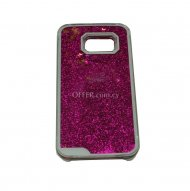 HARD CASE SAMSUNG GALAXY S6 EDGE G925 GLITTER PINK