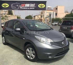 2013 Nissan Note 1.2L Petrol Automatic Hatchback