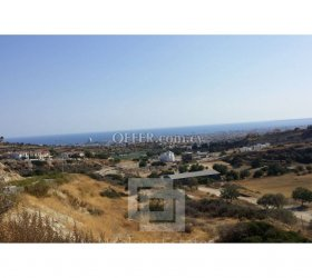 Residential plot with sea view for sale in Agios Athanasios - 11245