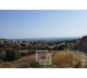 Residential plot with sea view for sale in Agios Athanasios - 11244
