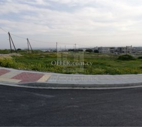 Newly cut residential plots for sale in a very good location in Kolossi, Limassol - 10975