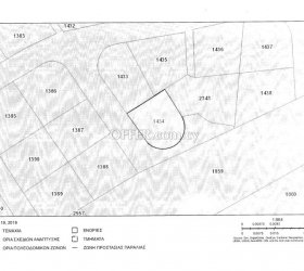 Corner residential plot of 522m2 for sale in the Anthoupolis area of Ypsonas, Limassol - 10961