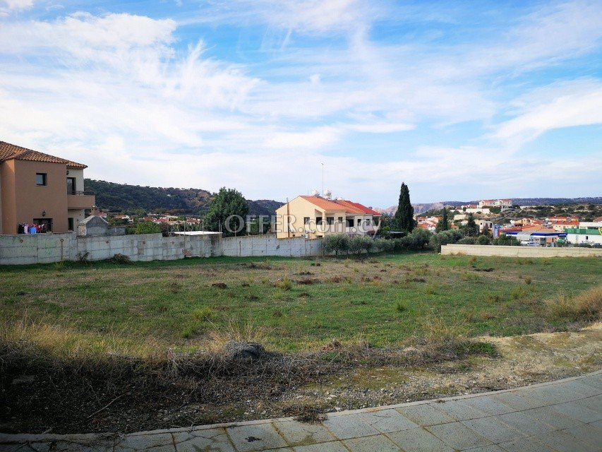 Building Plot 1080 sm in Pissouri, Limassol - 2