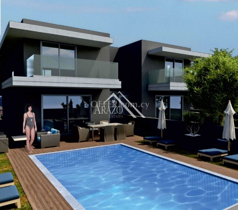 4 Bed Semi-Detached Villa For Sale in Livadia, Larnaca - 4