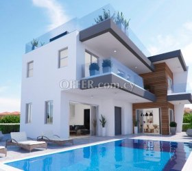 FOR SALE – 3 Bedroom Luxury Villa – Chloraka, Paphos