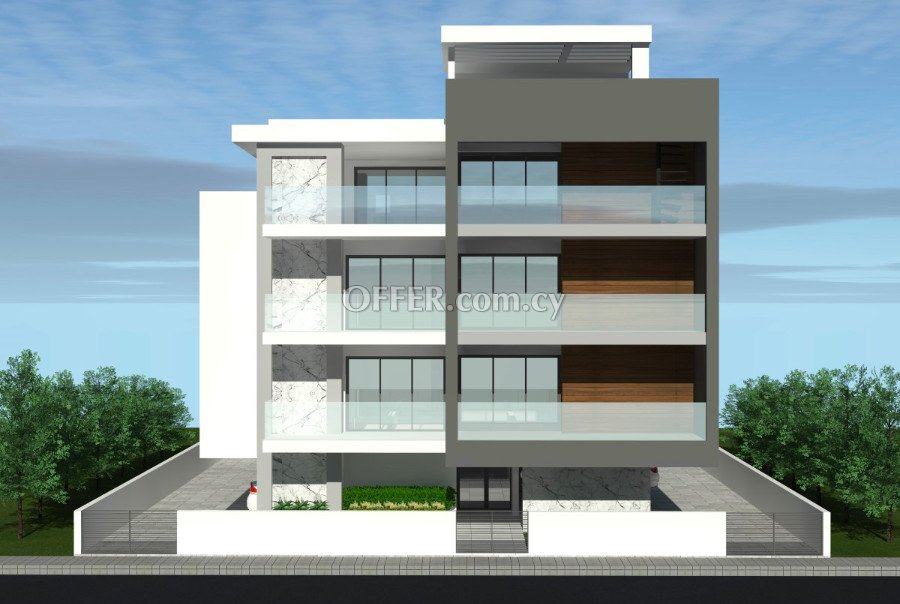 Under construction two-bedrooms apartment in Limassol - 3
