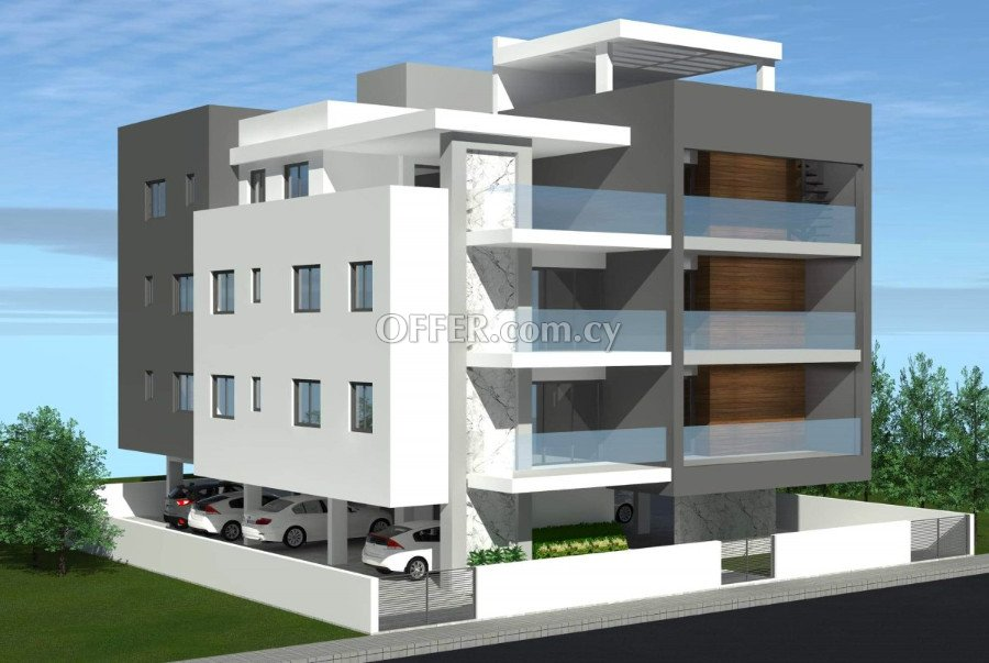 Under construction two-bedrooms apartment in Limassol - 1