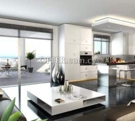 Under construction two-bedrooms apartment in Limassol, near city center