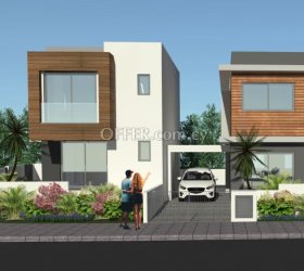 Under Construction 4 bedrooms Semi-detached house in Ypsonas, Limassol - 1
