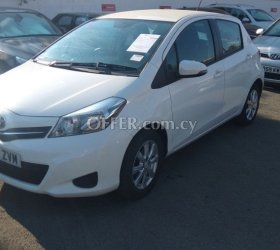 2012 Toyota Yaris 1.0L Petrol Manual Hatchback