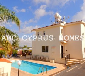 Investment Opportunity. Villa in Paphos in Coral Bay close to the beach. Title deeds