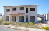 Two Incomplete townhouses for sale in Paphos