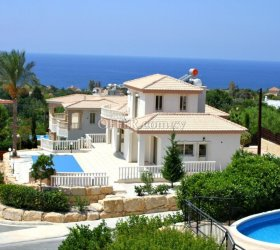BUY SEA VIEW VILLA IN PAPHOS