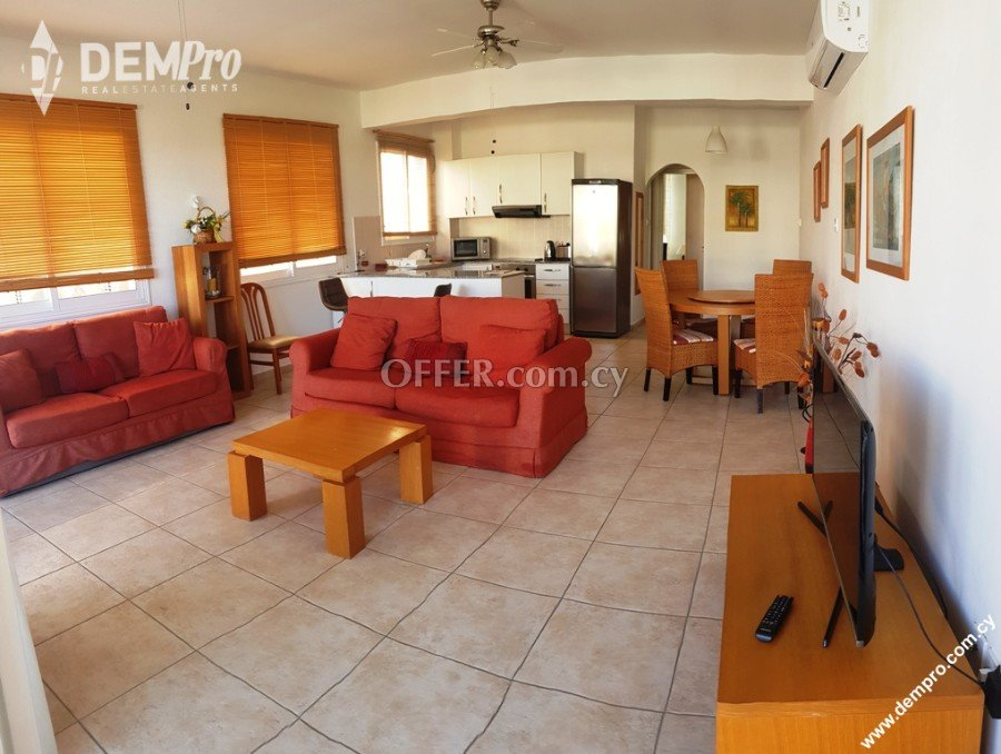 For rent 2 Bedroom Apartment in Kato Paphos - Universal - 2