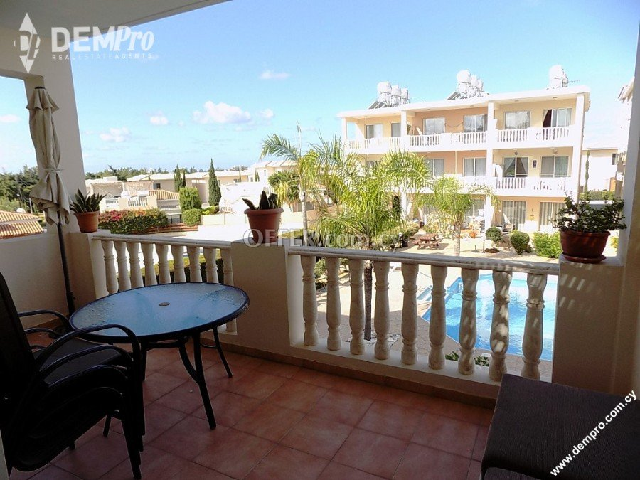 For rent 2 Bedroom Apartment in Kato Paphos - Universal - 3