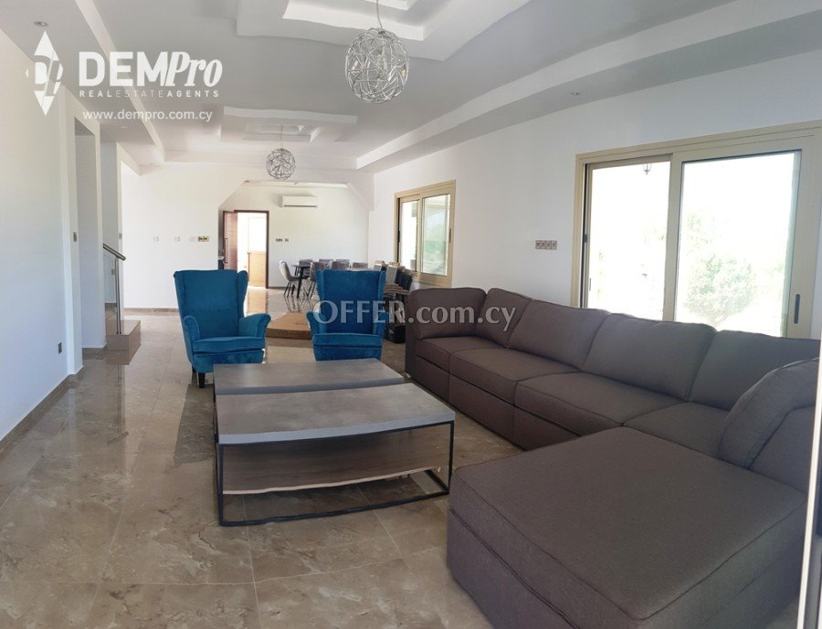For Rent 4 Bedroom Luxury Villa in Paphos - Armou - 5