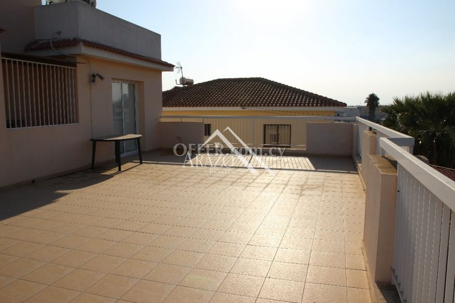 2 Bedroom Top Floor Apartment with Title Deed, Paralimni - 2