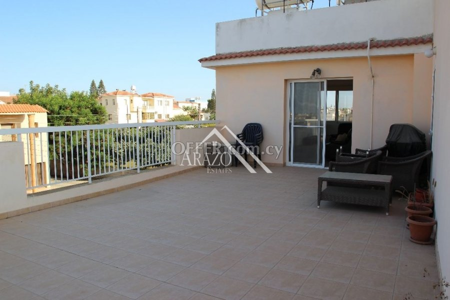 2 Bedroom Top Floor Apartment with Title Deed, Paralimni - 3