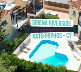 FOR RENT 2 BEDROOM APARTMENT IN KATO PAPHOS - Walk to the Beach