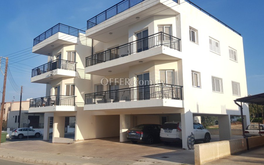 For rent 2 Bedroom Apartment in Pafos Center - 1