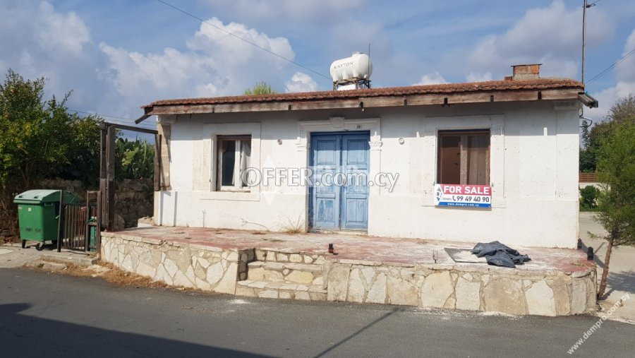 For Sale Bungalow in Anavargos - Paphos - Cyprus - 1