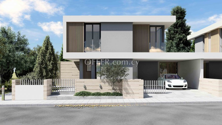 4 Bedrooms Detached House In Engomi , Ma/ssa - 1