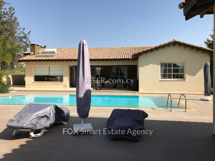 4 Bed  				Detached House 			 For Rent in Parekklisia, Limassol - 1