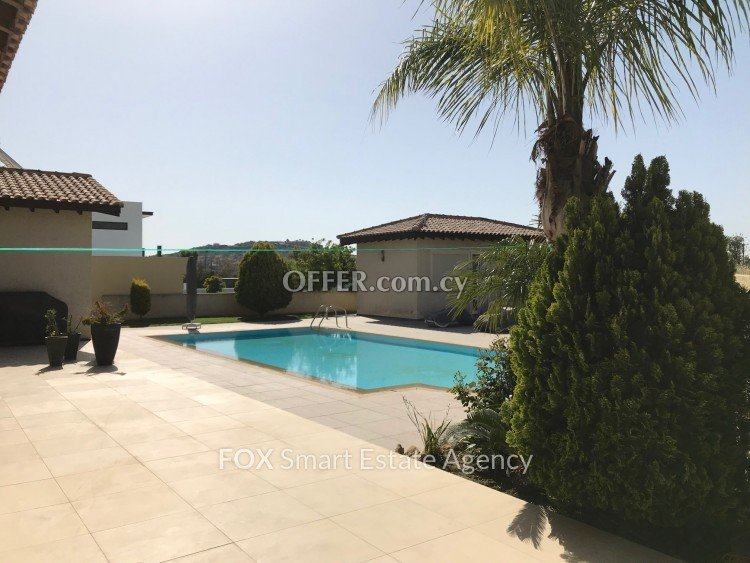 4 Bed  				Detached House 			 For Rent in Parekklisia, Limassol - 4