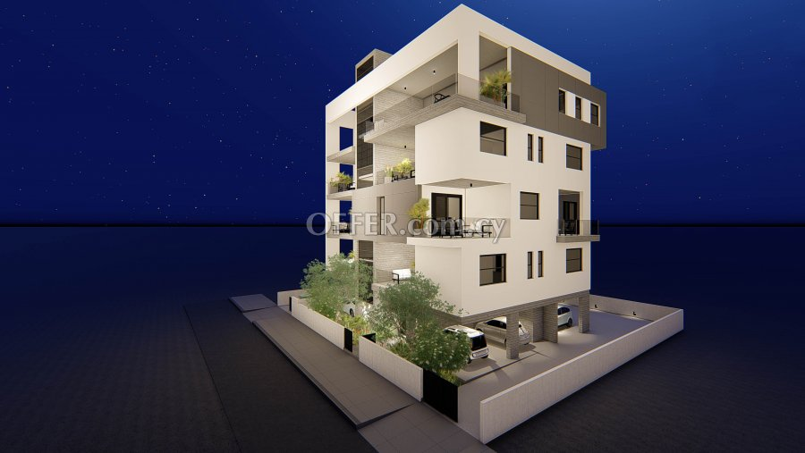 3 Bedrooms Penthouse Flat In Agioi Omologites - 2