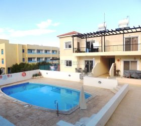 For Sale 2 Bedroom Ground Floor Apartment in Tombs of the Kings - Pafos
