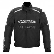 Alpinestars Gunner Waterproof Jacket Logo   Black