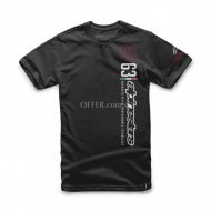 Alpinestars LEADER BOARD Tshirt Black